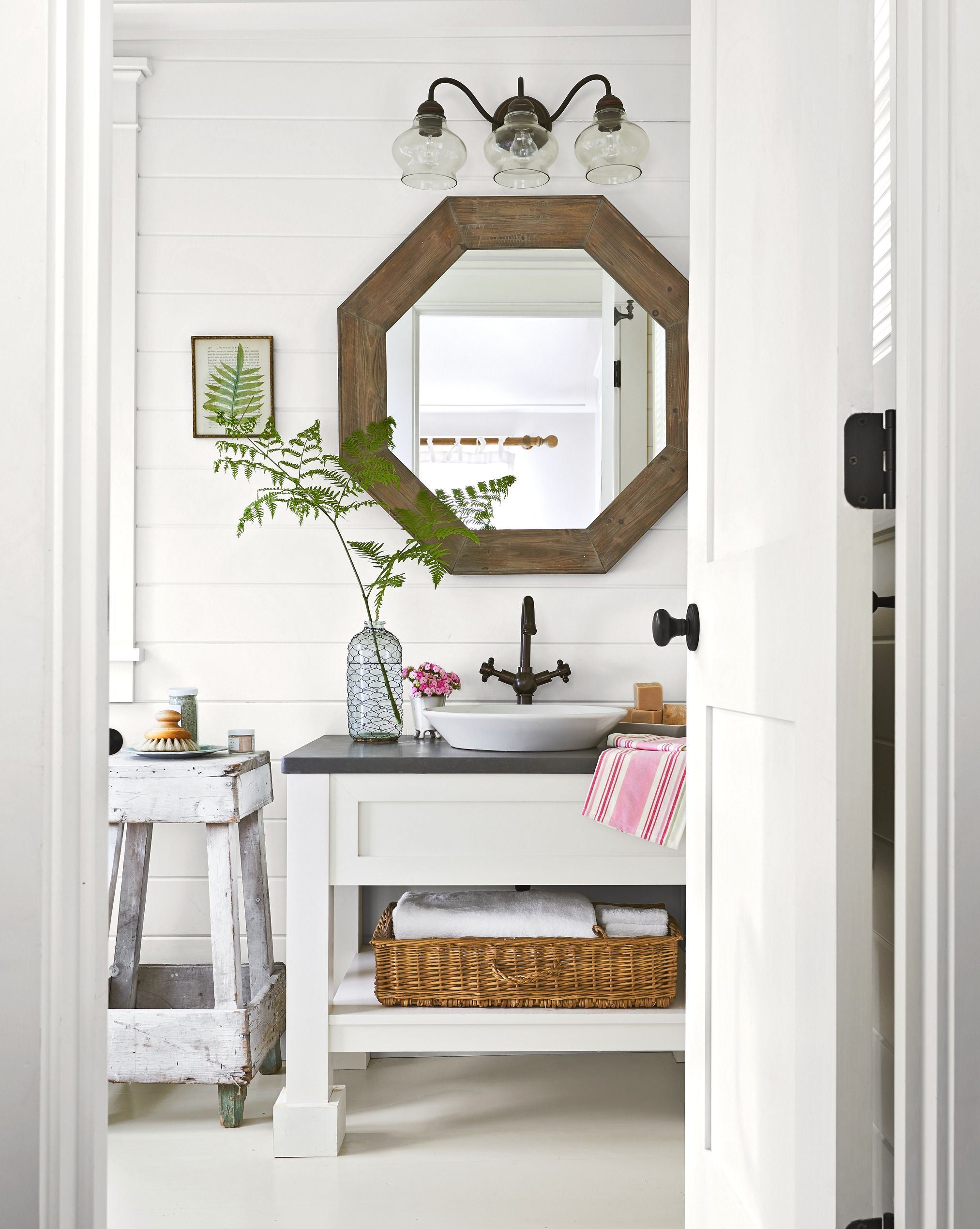 8 Half Bathroom Ideas - Decor Ideas for Small Spaces