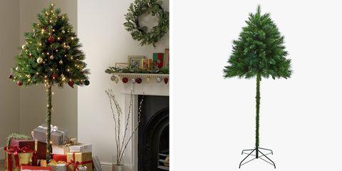 Half Christmas Tree.6 Foot Half Christmas Tree
