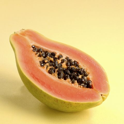 Half of a Papaya