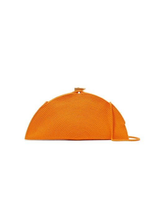 half price designer bags -CATZORANGESeñor woven cotton shoulder bag