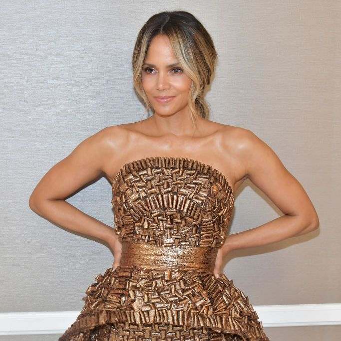 Halle Berry Says She Drinks 4 Caffeinated Hint Waters During Every Workout