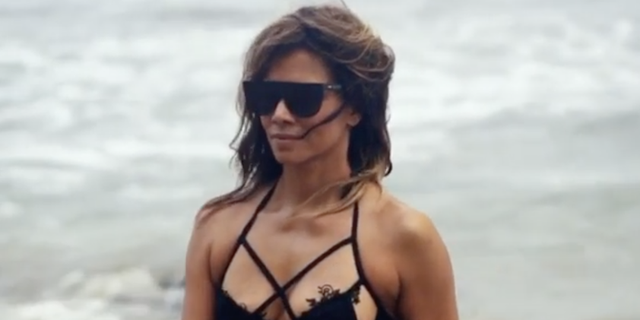 Halle Berry Celebrates 54th Birthday On The Beach In Sleek Bikini
