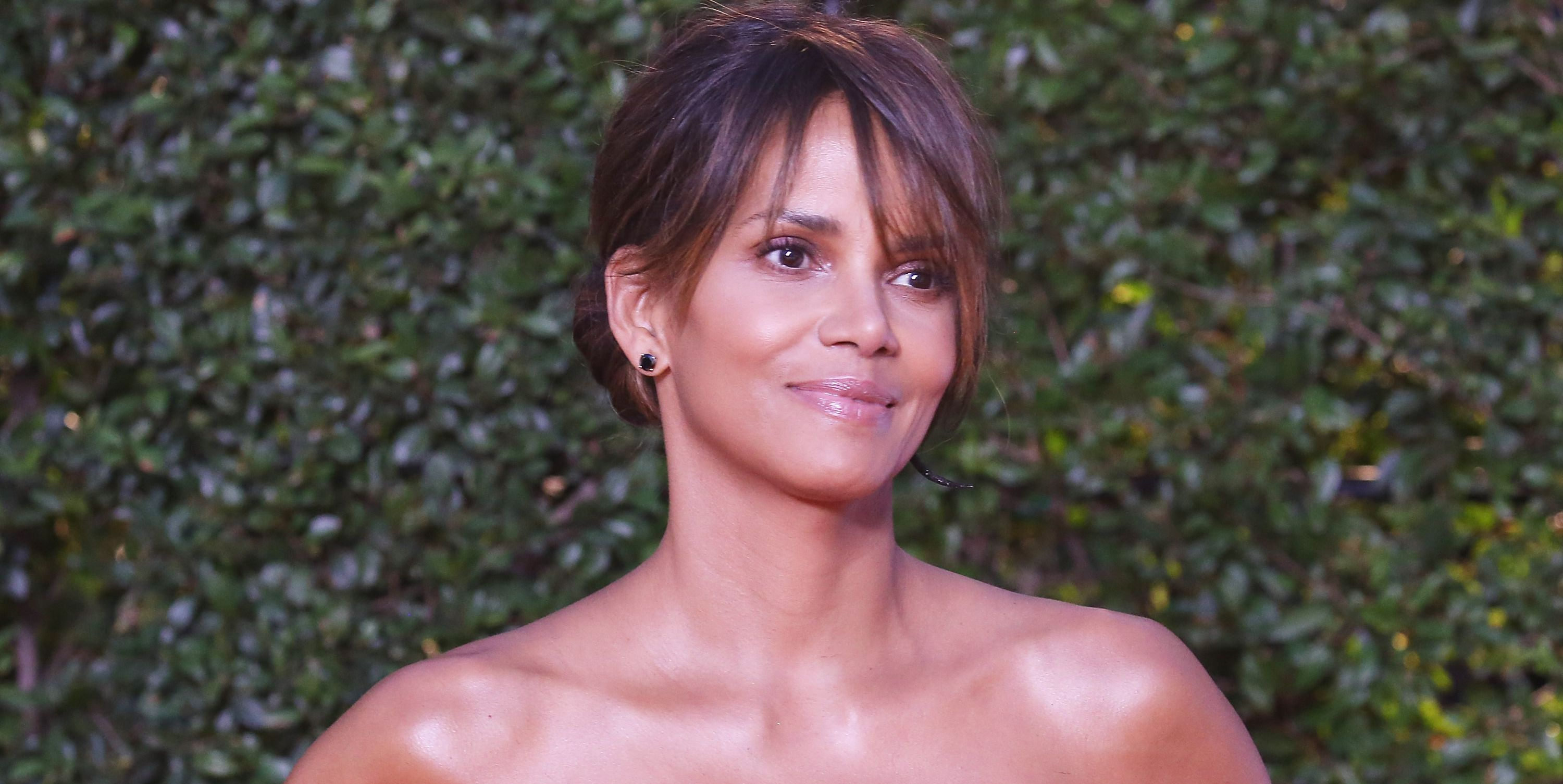 Halle Berry naked dress