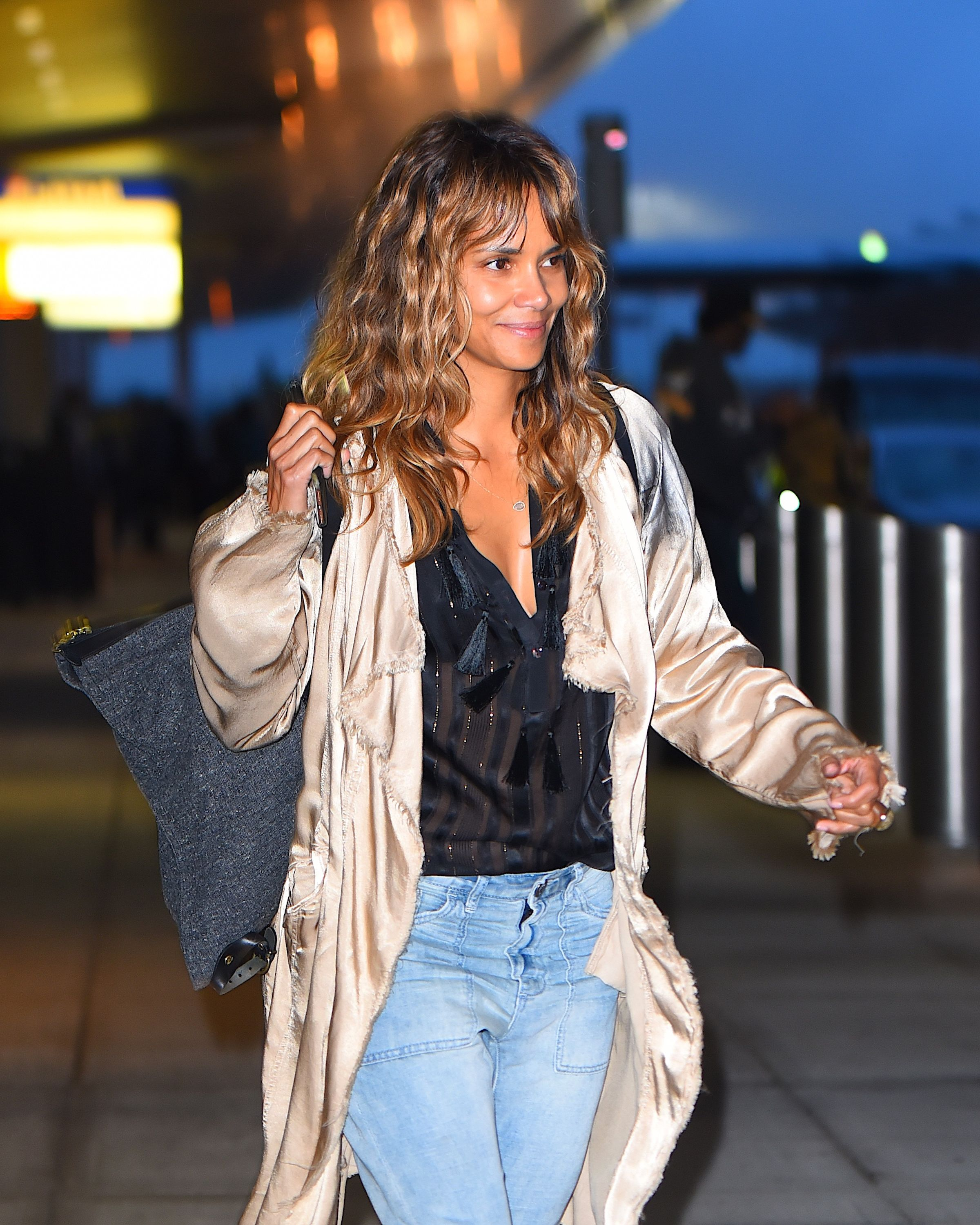 Halle Berry Says She Fasts Every Morning Until 2 P.M.