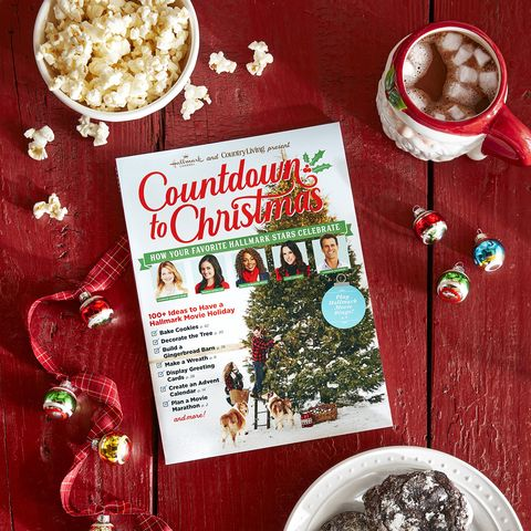 Countdown To Christmas.Country Living And Hallmark S 2019 Countdown To Christmas
