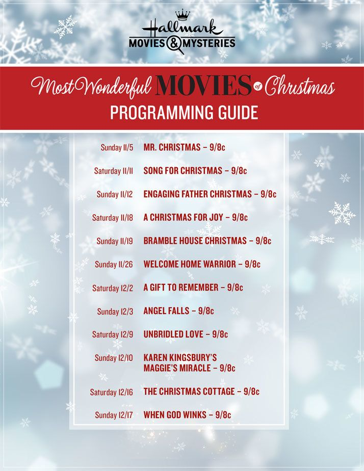 %name Hallmark Channel Gifts Us with Festive Countdown to Christmas Movie Lineup