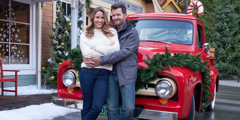Christmas In Evergreen Truck.Taysha Murtaugh Lifestyle Editor
