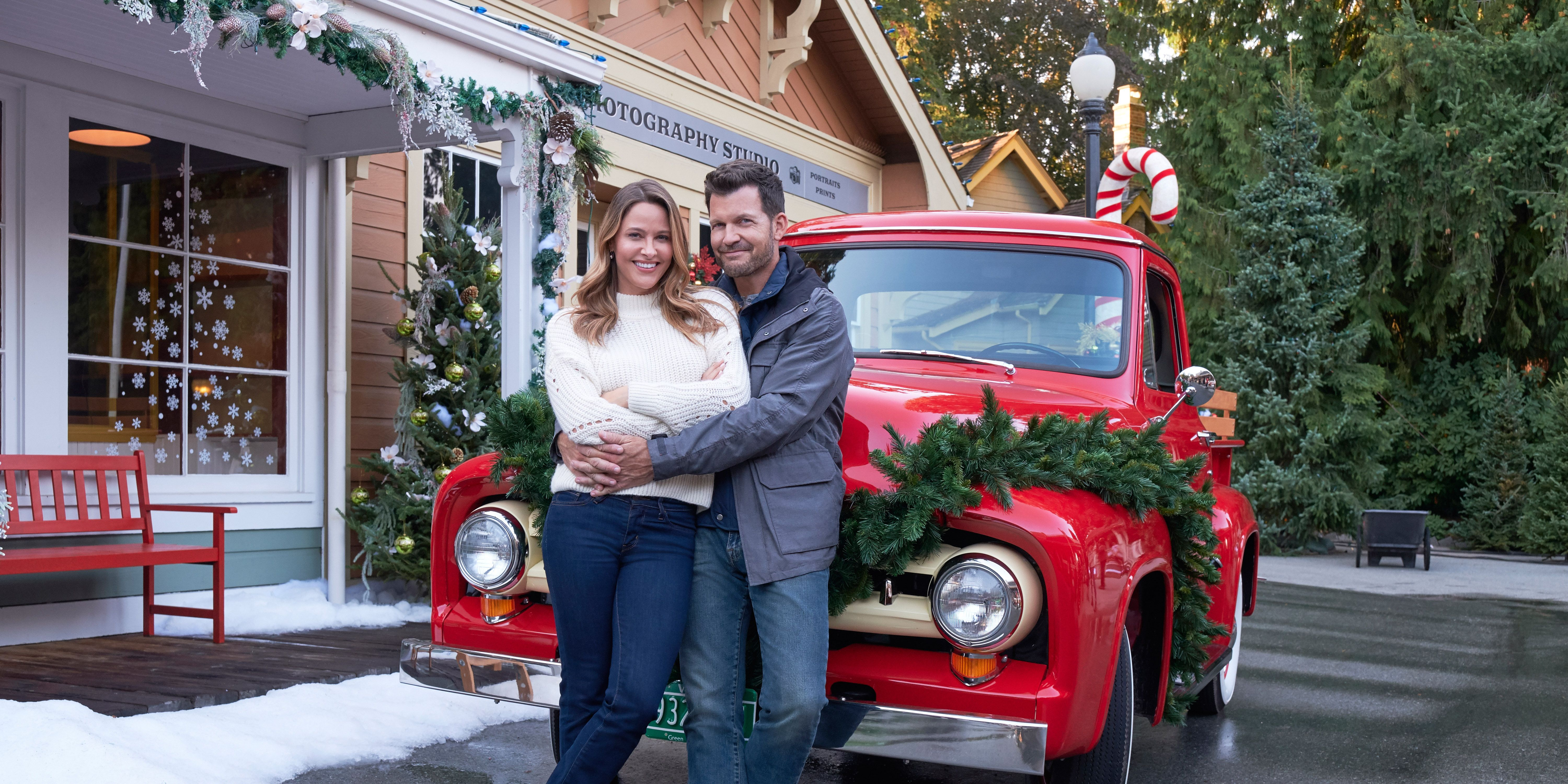 This Hallmark Christmas Movie Set Is a Historic Village You Can Visit In Real Life