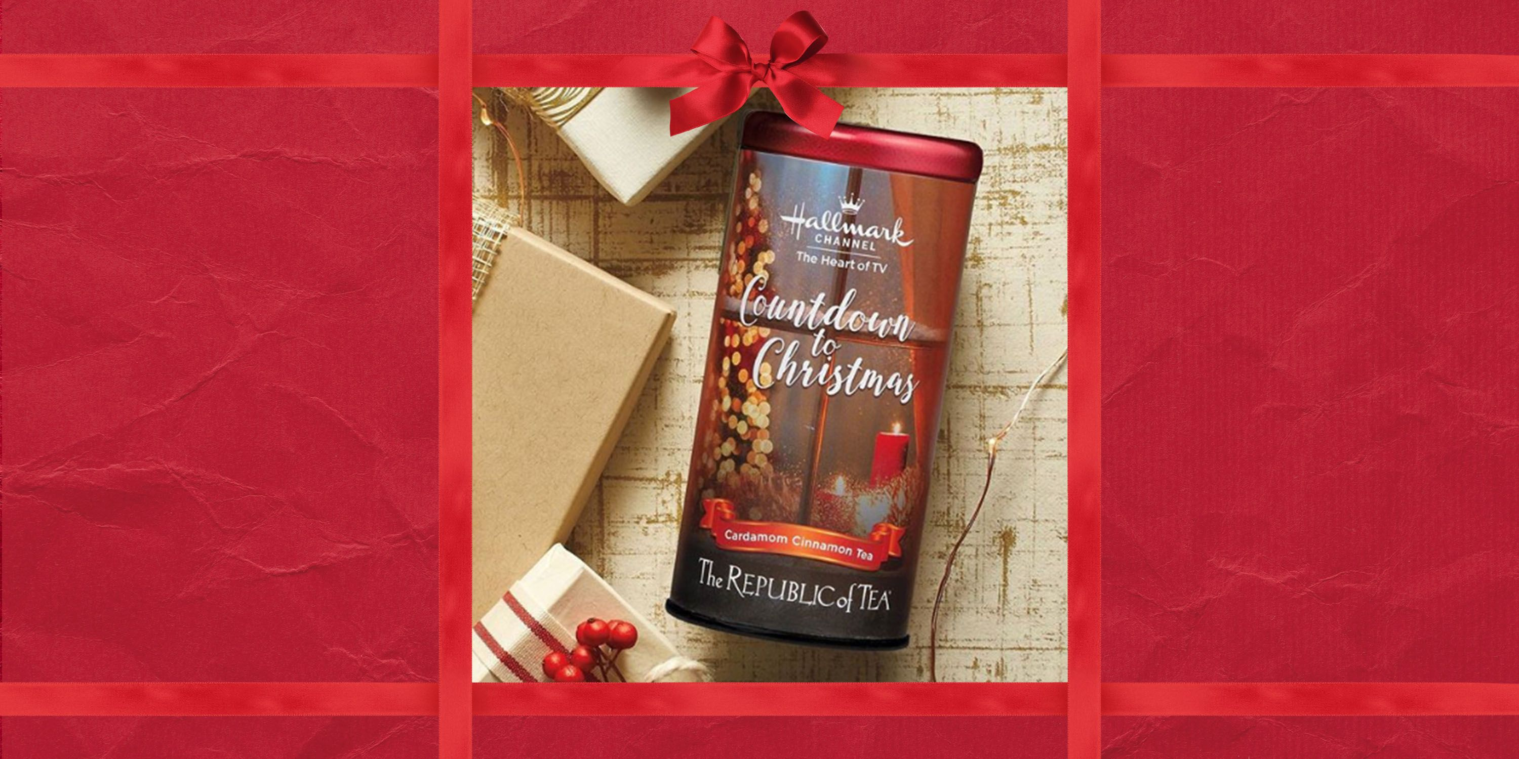 Hallmark Releases Countdown To Christmas Tea At World Market