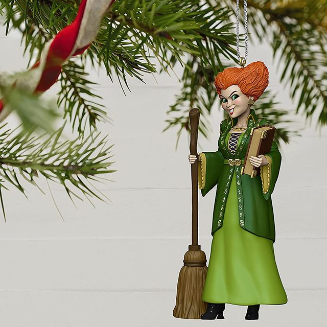 hallmark keepsake disney hocus pocus winifred sanderson tree ornament
