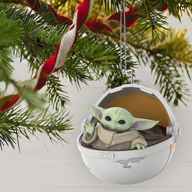 hallmark keepsake baby yoda christmas ornament
