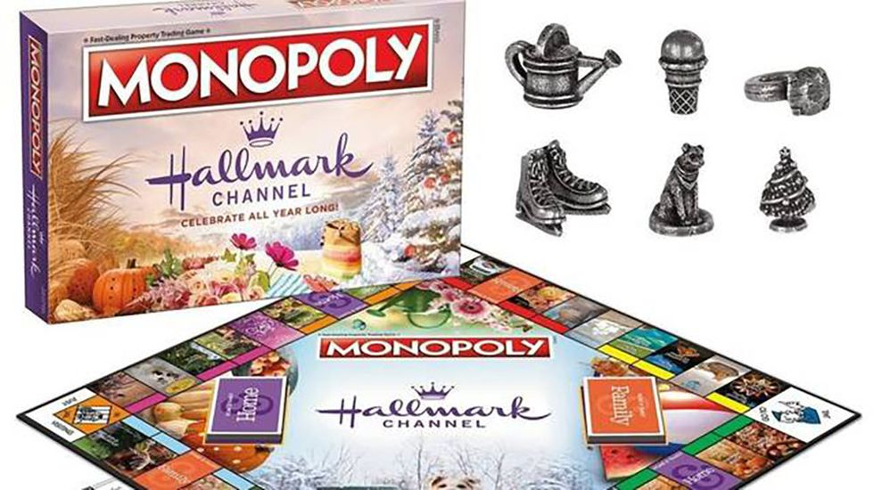 Hallmark-Themed Monopoly Is a Thing and We're Officially Freaking Out