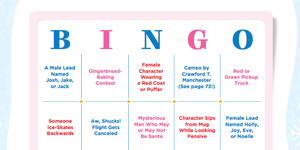 hallmark movie bingo game