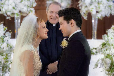 a harvest wedding hallmark movie