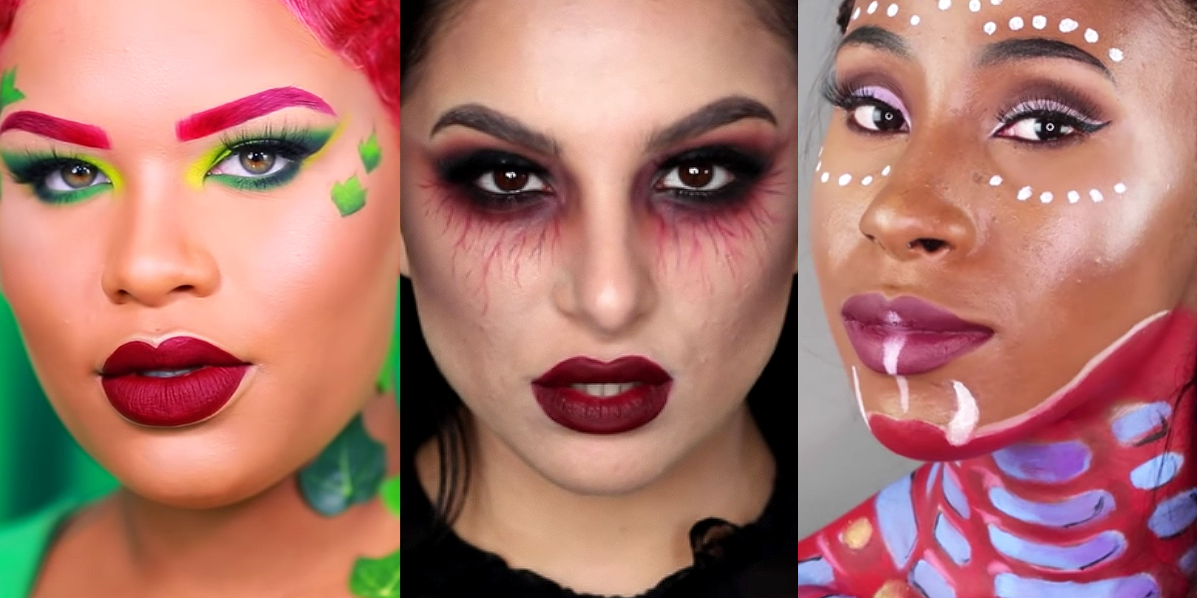 22 Easy Halloween Makeup Ideas , Simple Halloween Makeup