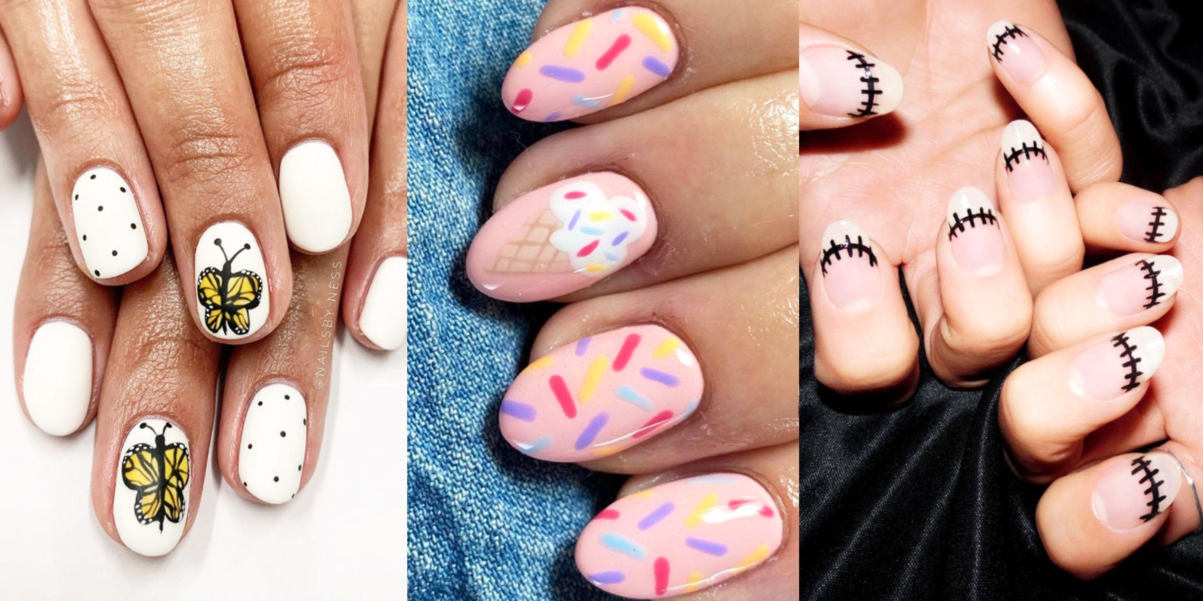 58 Halloween Nail Art Ideas 2020 How To Do Halloween Nails