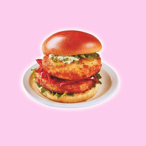 Iceland Halloumi burger