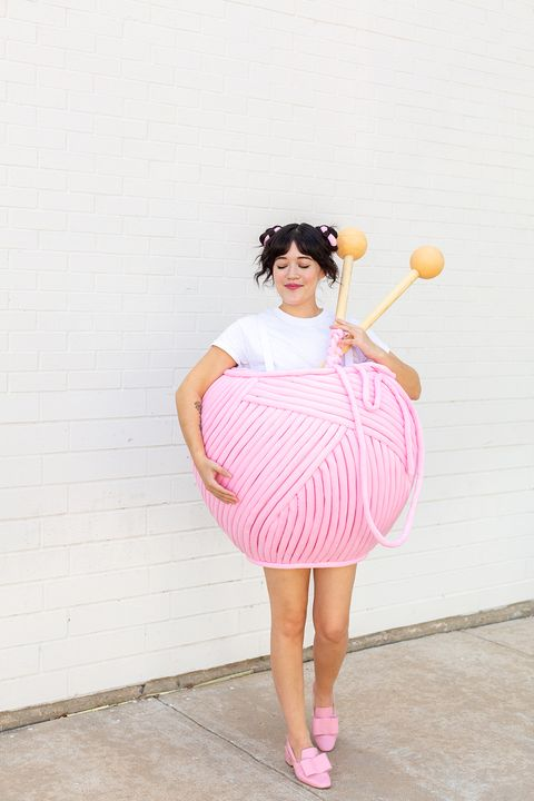 ball of yarn costume