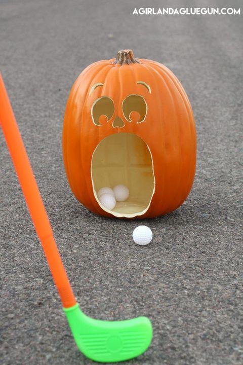 halloween activities golf