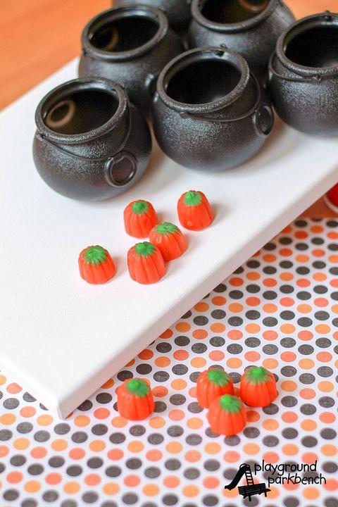 halloween activities pumpkin toss