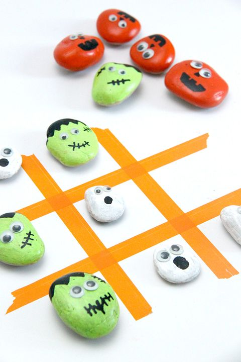halloween activities tic tac toe