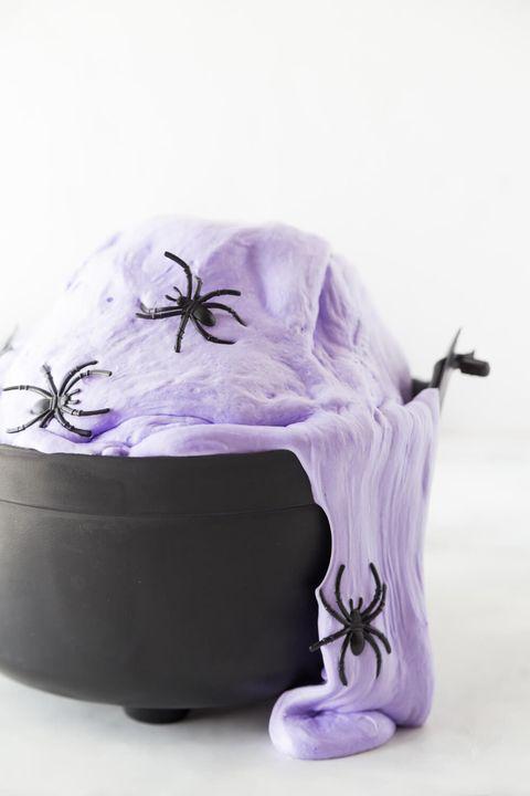 halloween activities witch slime