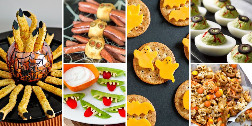 40 Easy Halloween Appetizers Recipes Amp Ideas For