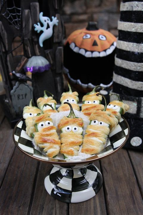 36 Easy Halloween Party Appetizers Best Recipes For Halloween Hors
