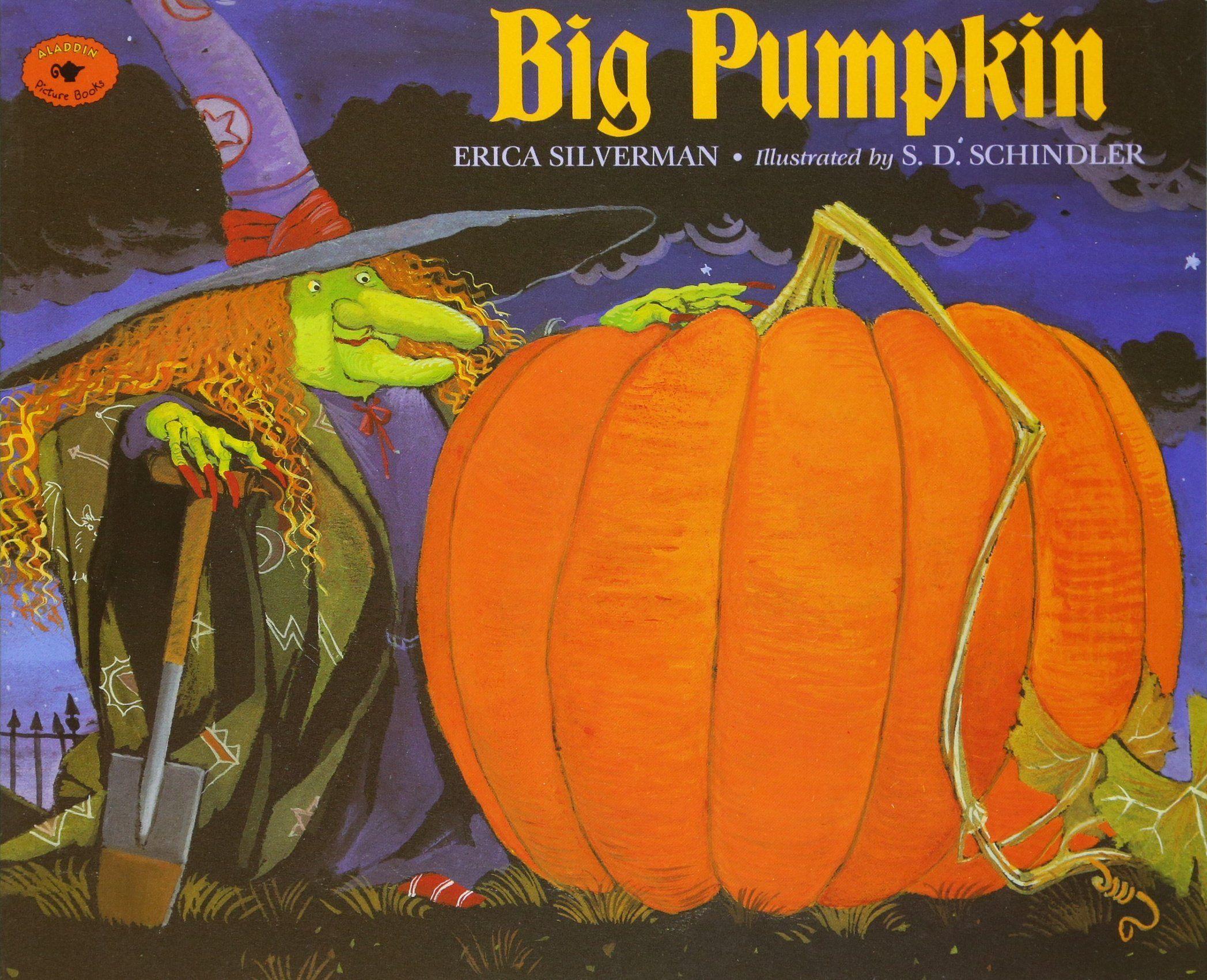 halloween books for kids big pumpkin