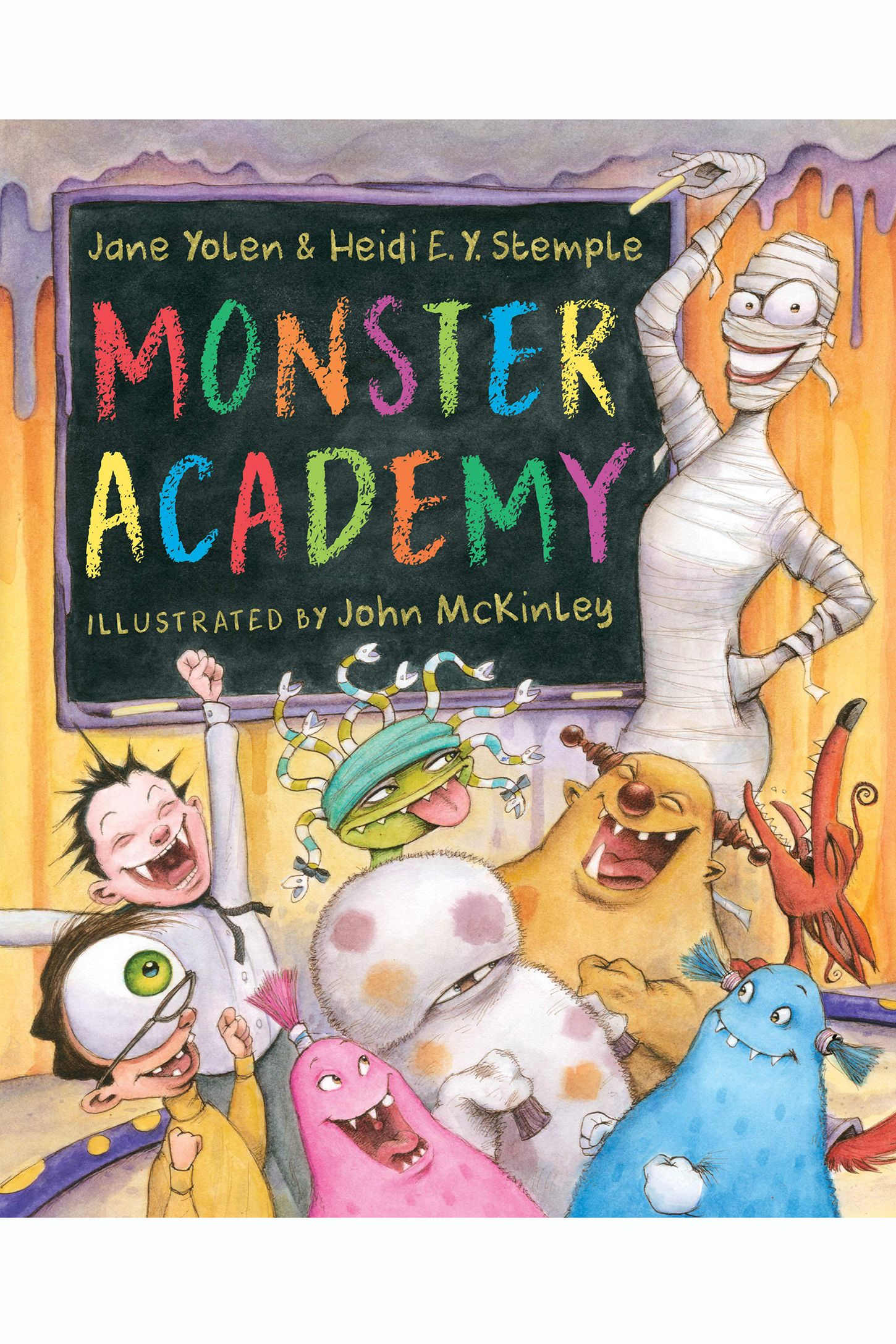 halloween books for kids monster academy