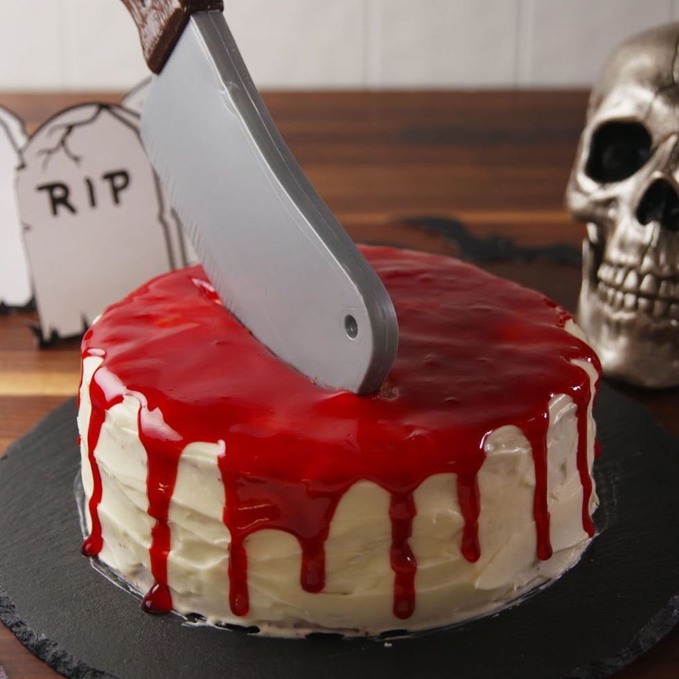 Amazing 42 Easy Halloween Cakes Recipes Ideas For Halloween Cake Funny Birthday Cards Online Barepcheapnameinfo