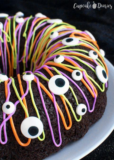70 Easy Halloween Cakes Halloween Cake Recipes And