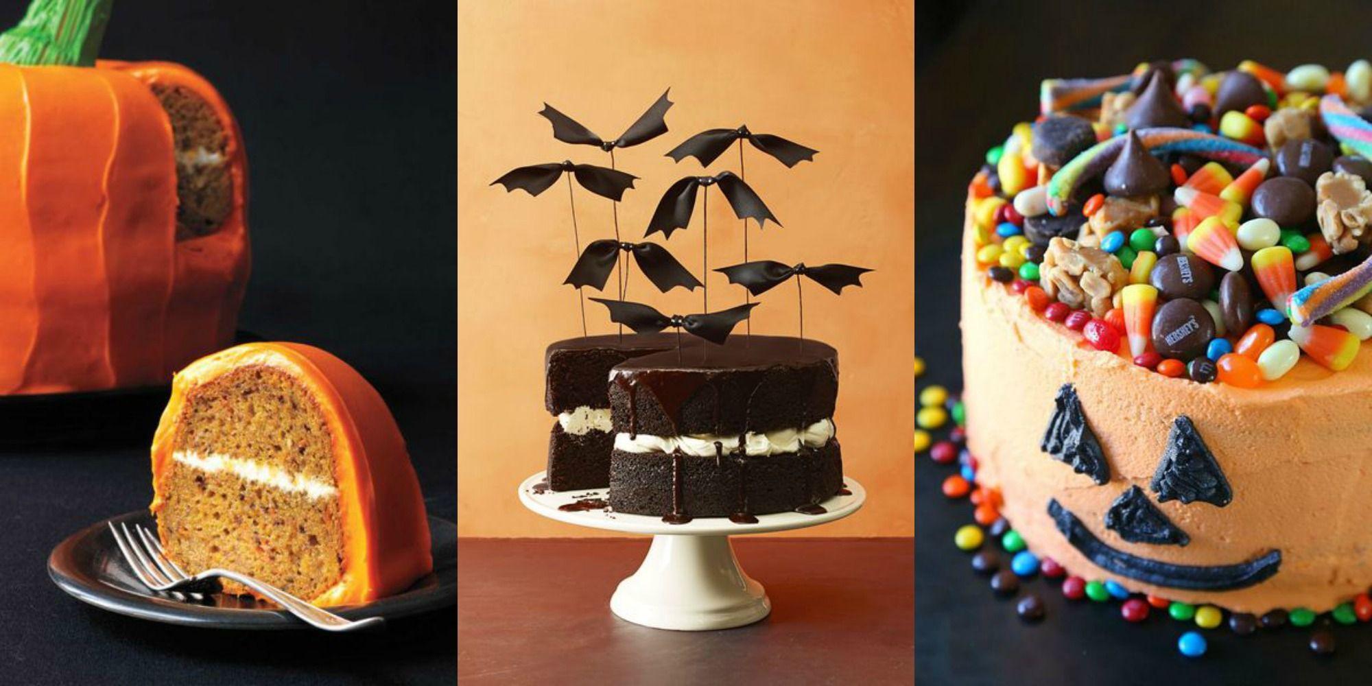 30 Spooky Halloween Cakes Easy Halloween Cake Ideas