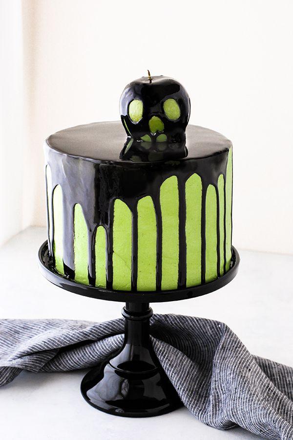 halloween cakes apple