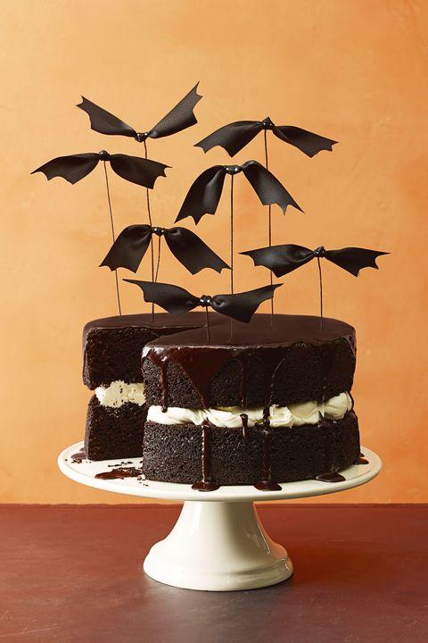 halloween cakes   bat cake