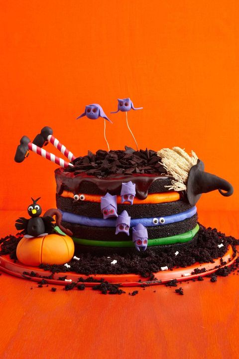 halloween cakes black chocolate witch cake