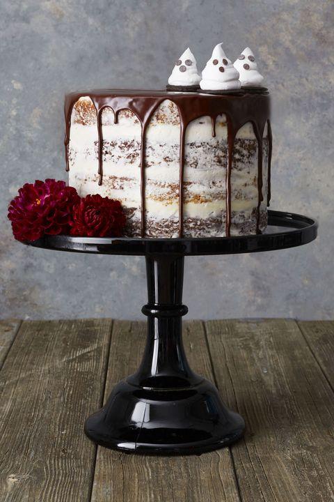 halloween cakes   pumpkin layer cake