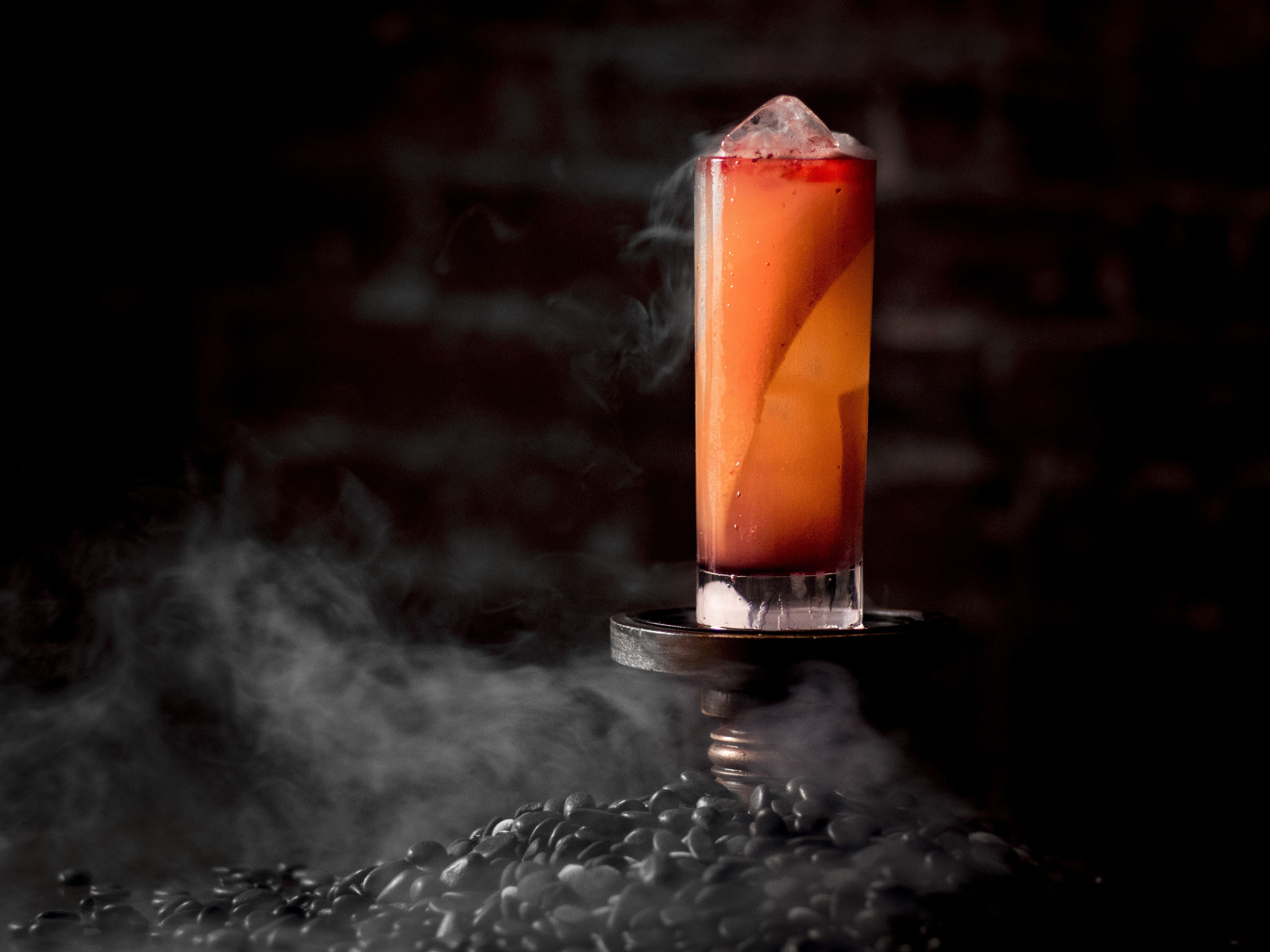 easy halloween cocktails - alcoholic drink recipes for halloween