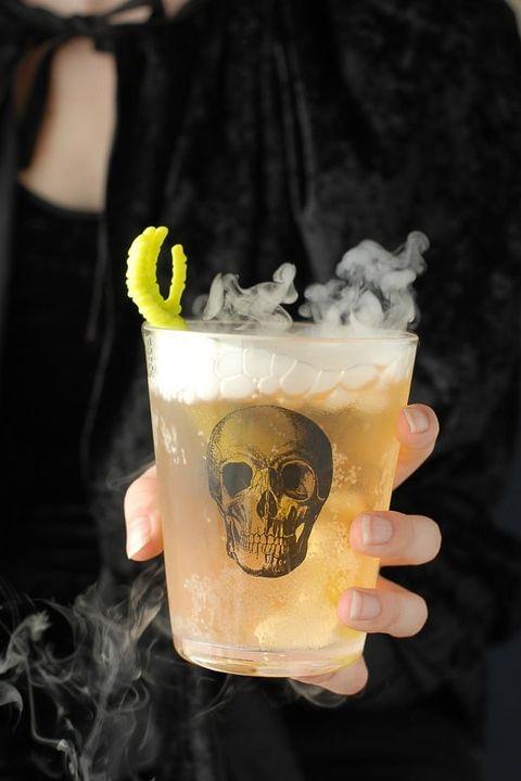 halloween cocktails grave digger