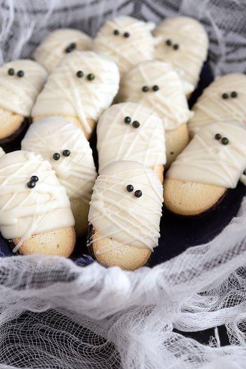 halloween cookies ghost