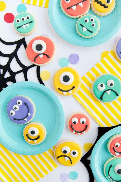 halloween cookies monster