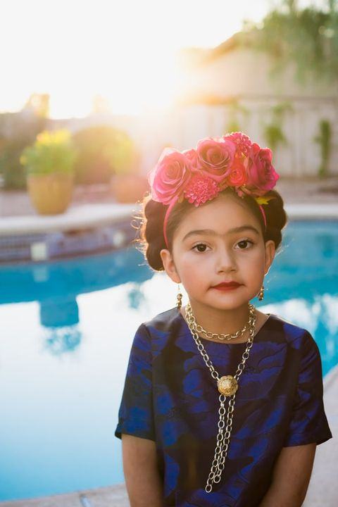 Halloween Costume Ideas for Kids - Frida Kahlo