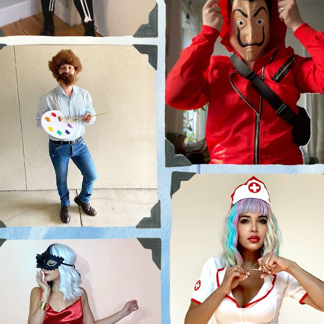 bennifer, promising young woman, jade, bezos, bob ross, money heist, bridgerton, cruella halloween costume ideas