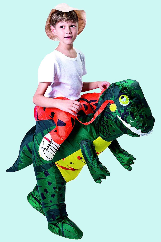T-Rex RiderPopular Kids Halloween Costumes
