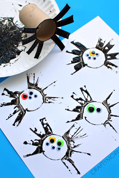 40 Easy Halloween Crafts For Kids Fun Halloween Kids Diy Ideas