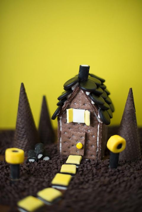 halloween crafts for toddlers haunted house