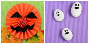 Halloween crafts for the little ones