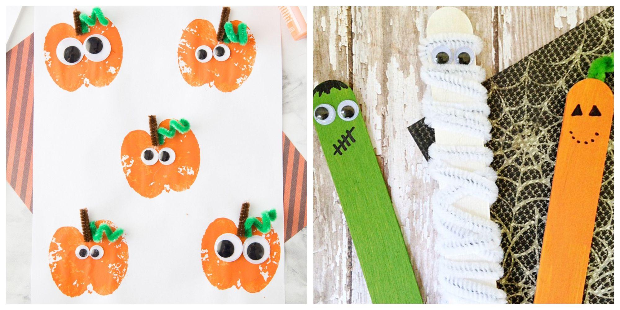 15 Easy Halloween Crafts For Toddlers  Quick Preschooler Halloween