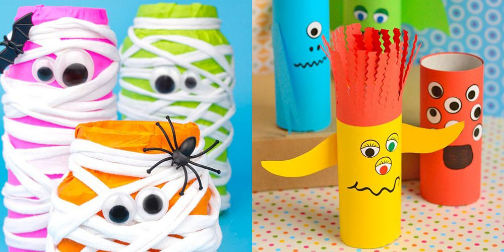 picture about Halloween Printable Crafts referred to as 15 Halloween Crafts for Preschoolers - Halloween Actions