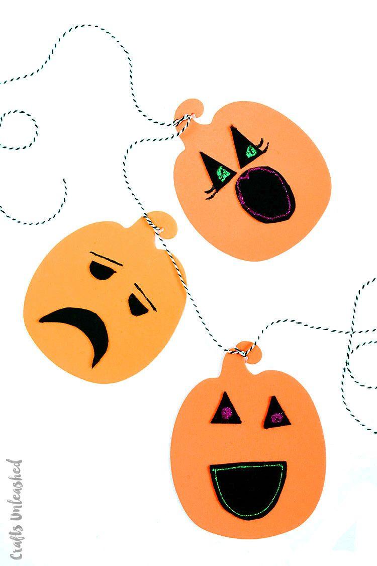 halloween crafts toddler pumpkin